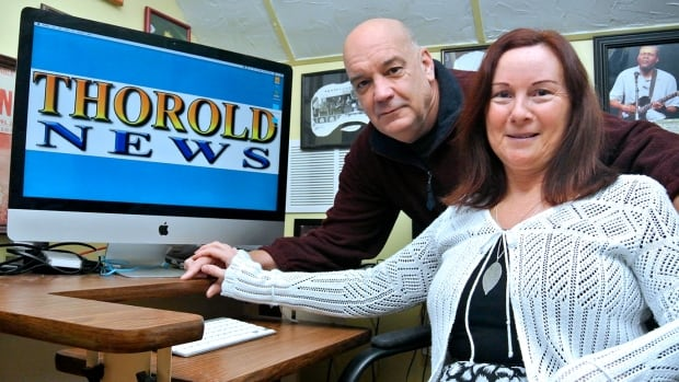 Bob Liddycoat and his wife Cathy Pelletier are relaunching Thorold News to counter the closure of a local community newspaper. Liddycoat was co-owner of Thorold News before he sold it in 2004. The paper won several national awards and dates back to 1941.
