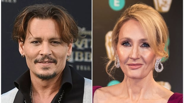 Writer J.K. Rowling has defended the continued casting of Johnny Depp in the Fantastic Beasts film franchise.