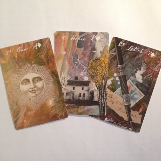 Lucky Lenormand tarot cards