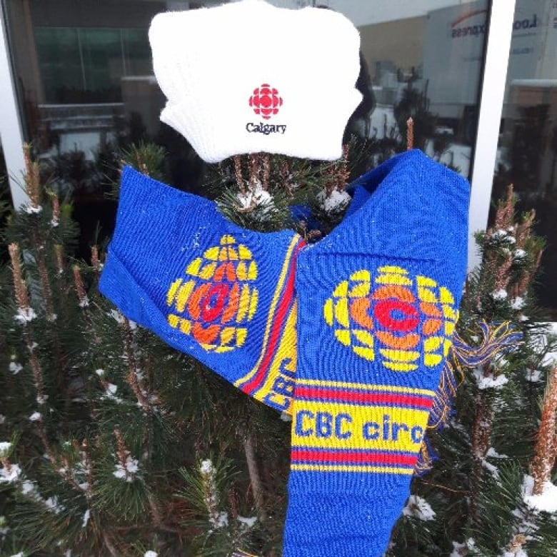 entire office decked. Sid The Shrub, CBC Calgary\u0027s Resident Ugly Christmas Tree, Is Looking Stylish In This Tuque And Vintage Scarf. Entire Office Decked