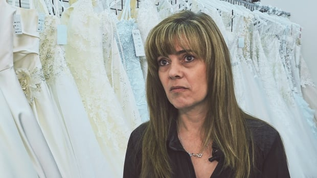 'It's frustrating us, but it's also disturbing people's lives,' said Chantal Larocque, co-owner of the bridal store.