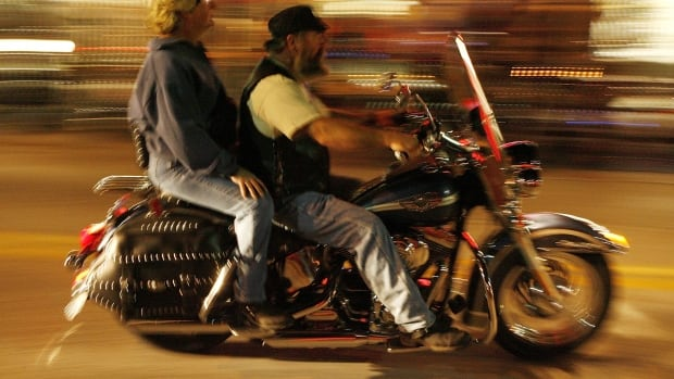 The study's researchers said there were an average of 9.1 motorcycle deaths at night when there was a full moon, compared with an average of 8.64 motorcycle deaths on nights without a full moon.