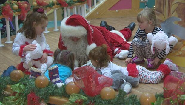 Santa at the Janeway