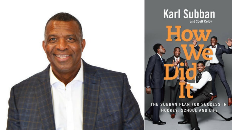 Author and coach Karl Subban, along with journalist Scott Colby, give readers advice on raising athletes.