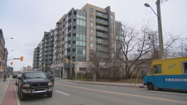 Ashcroft's condo development on Richmond Road