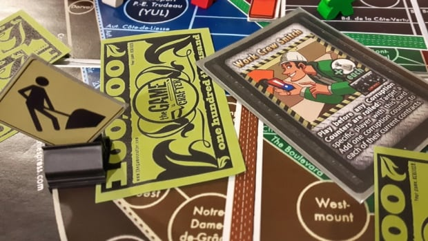 Construction & Corruption is a new Montreal-themed board game inspired by the city's traffic woes.