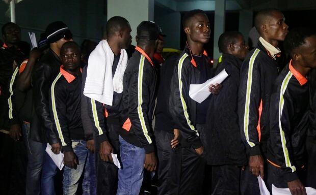 Africa Libya Migrants