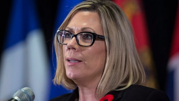Manitoba Environment Minister Rochelle Squires says the province will talk with the feds about signing a climate change agreement to access clean energy funds.