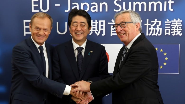 In deal as big as NAFTA, EU and Japan agree to free trade