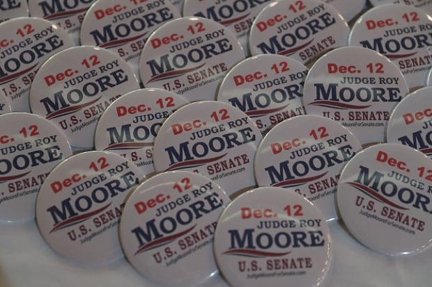 Moore buttons