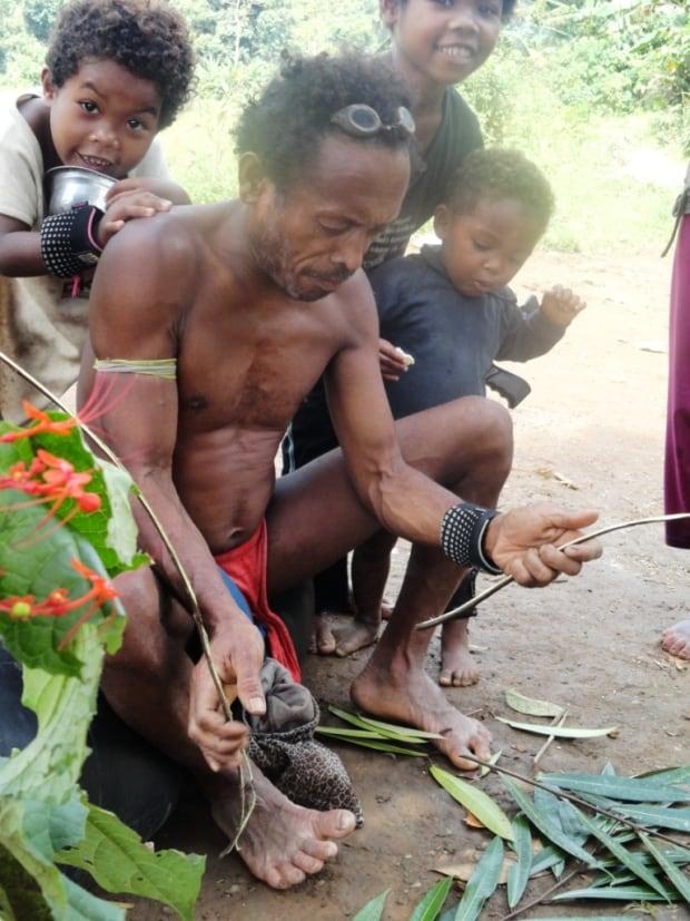 Camp Elder Telling Stories