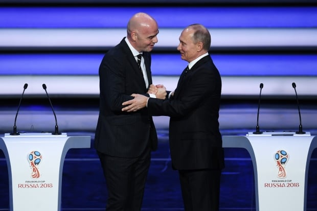 Russia to host FIFA World cup