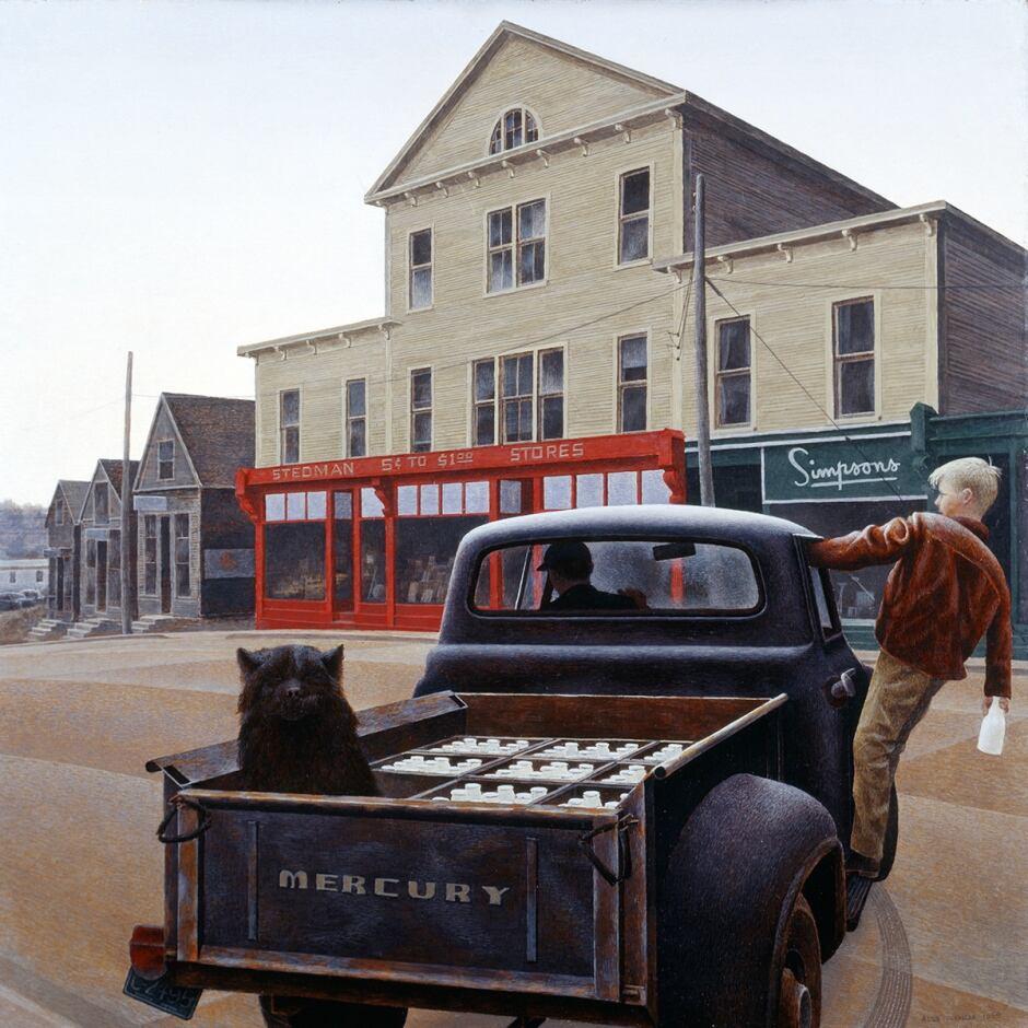 Milk Truck by Alex Colville