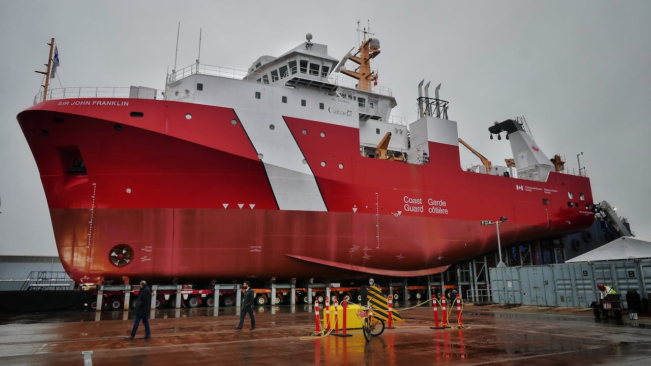 Software Glitch Damages Part Of New Canadian Science Vessel Cbc News