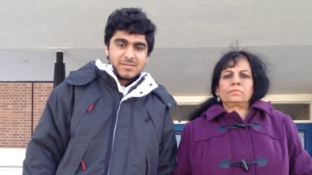 Fakhria Whahedi, 47, and her 18-year-old son, Shaher, were both killed when flames broke out at the Toronto Community Housing complex Monday.