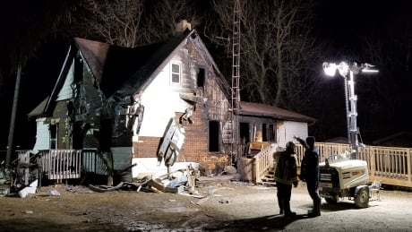 3-year-old boy dead, 2 children in serious condition after Six Nations house fire