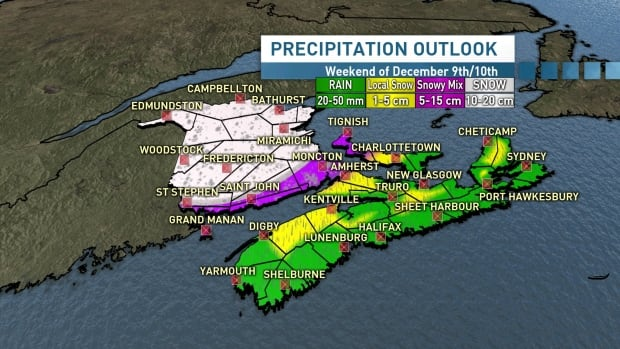 kalin-mitchell-cbc 'First significant snowfall' of the season to hit N.B. this weekend