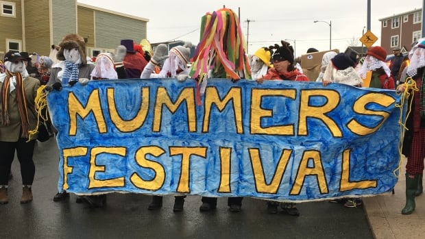 The ninth annual Mummers Festival hit the streets of St. John's on Saturday for the grand parade.