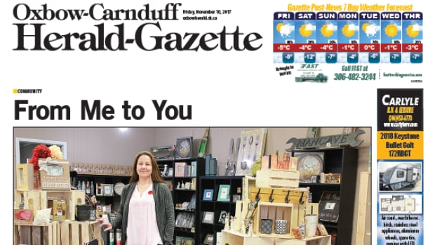 The Oxbow-Carnduff Herald-Gazette will remain open until Dec. 22, when it will close unless a new owner purchases the publication.
