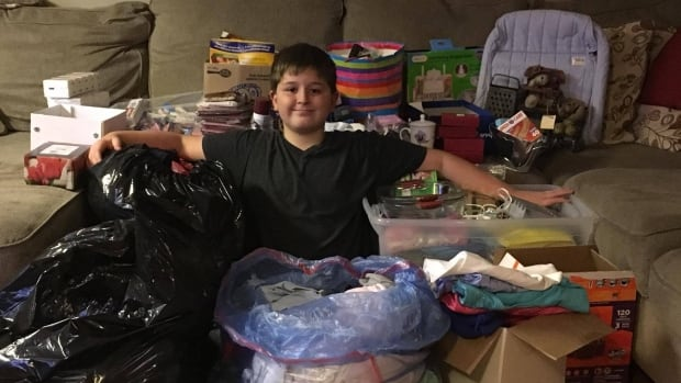 Joshua London started his campaign months ago and it has evolved into a massive donation drive. Items will be delivered just in time for the holiday season.