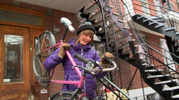 Gabrielle Anctil is an avid winter cyclist who says its only becoming more popular.