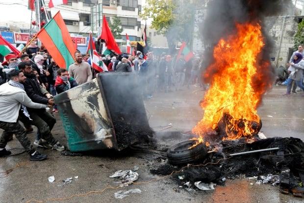 USA-TRUMP  ISRAEL-LEBANON-PROTESTS