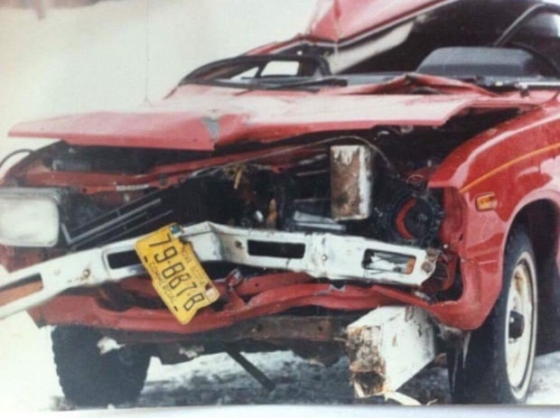 MacNeil car close up