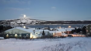 Moon over Makkovik