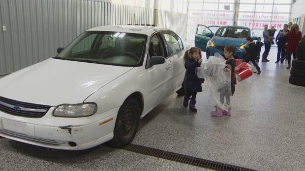 Cadance Smallboy new car