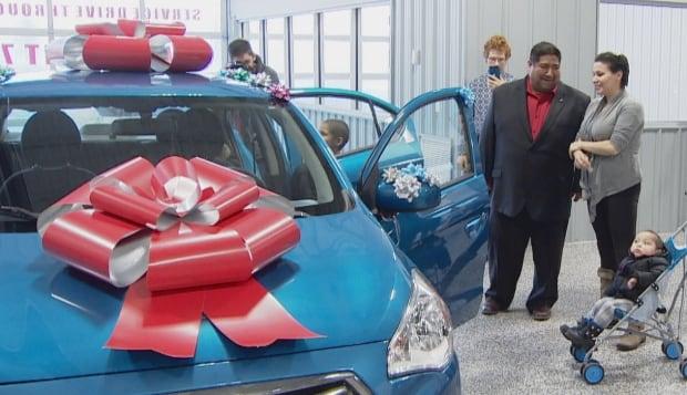 Candace Smallboy new car