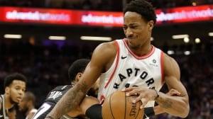 DeRozan's big 3rd quarter leads Raptors to 6th-straight win
