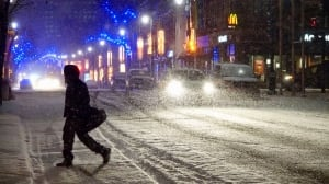 Wave goodbye to fall, Quebecers — here comes winter