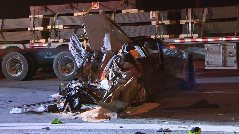 Toronto man, 56, killed in 'devastating' Highway 401 crash with