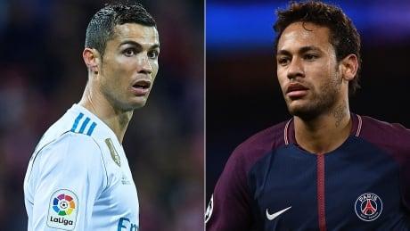 Ronaldo Neymar UEFA Champions League