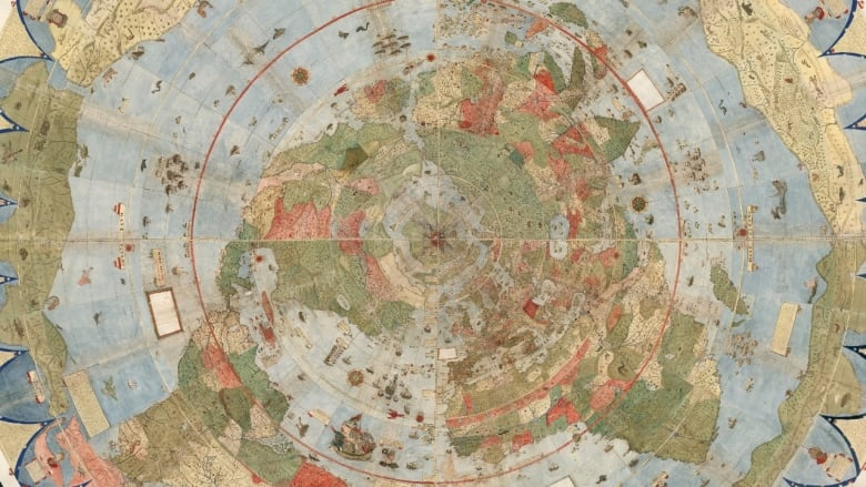 The Largest World Map From The Renaissance Has Been Assembled Online