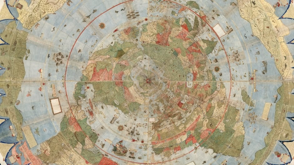 The Largest World Map From The Renaissance Has Been Assembled - World map atlas