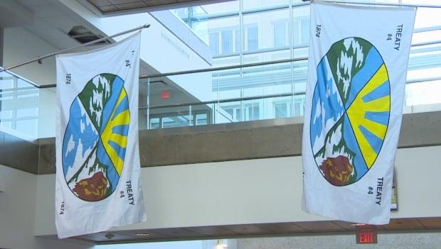 Treaty 4 flags university of regina