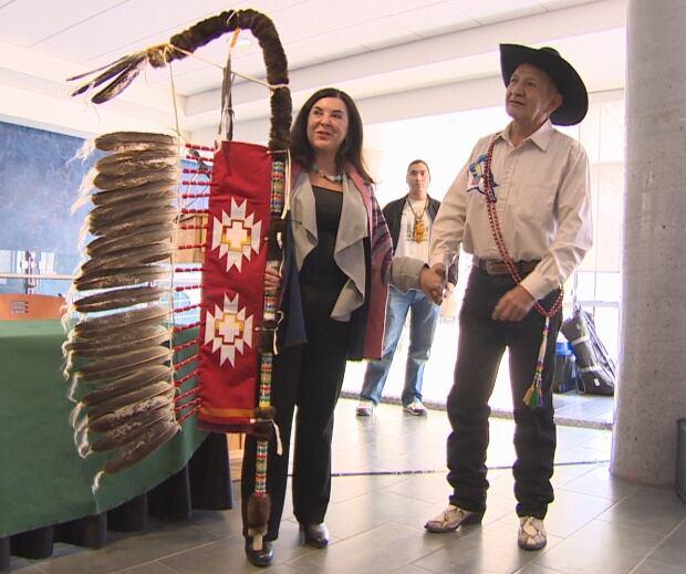 Treaty 4 eagle staff
