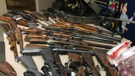 Red Deer 200 charges, firearms seized