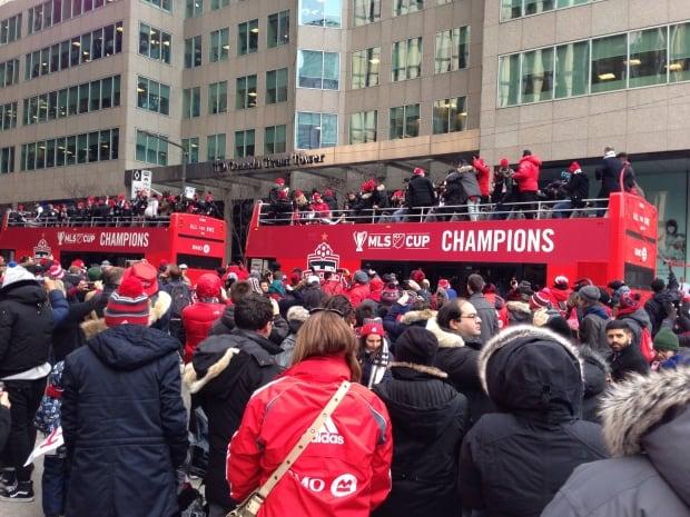 MLS Cup parade