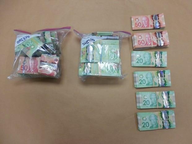 Kamloops RCMP seized $191,445.00 in cash