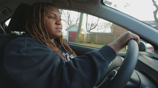 Uber driver Jordan Samuels has now signed up to drive for Lyft as well, hoping she will be able to pick up more rides during slow times.