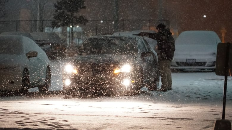 15 collisions within an hour as first major snowfall hits