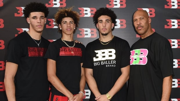 LaMelo Ball second from left and brother LiAngelo second from right have reportedly signed one-year deals to play with the Lithuanian club Vytautas Prienai