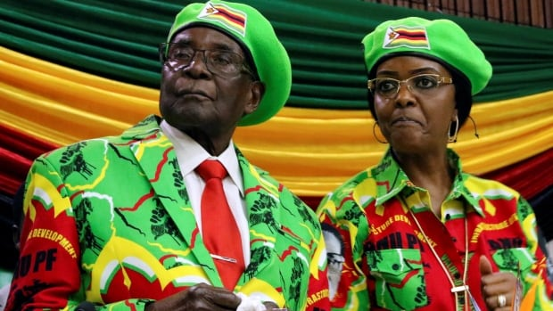 Mugabe's first trip since ouster