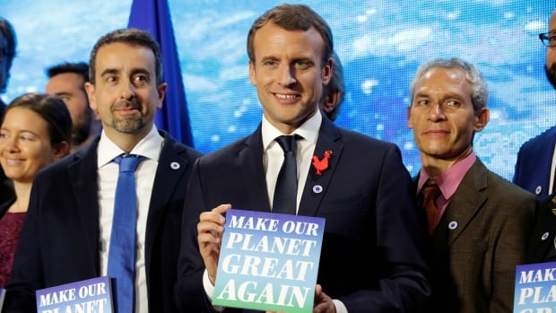 France awards US climate scientists grants to 'Make Our Planet Great Again'