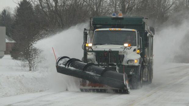 London snow plow