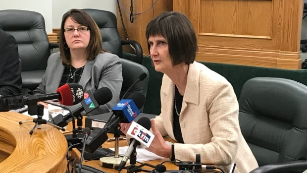 Saskatchewan auditor Judy Ferguson says many sick days for health sector workers are the result of workplace injuries.