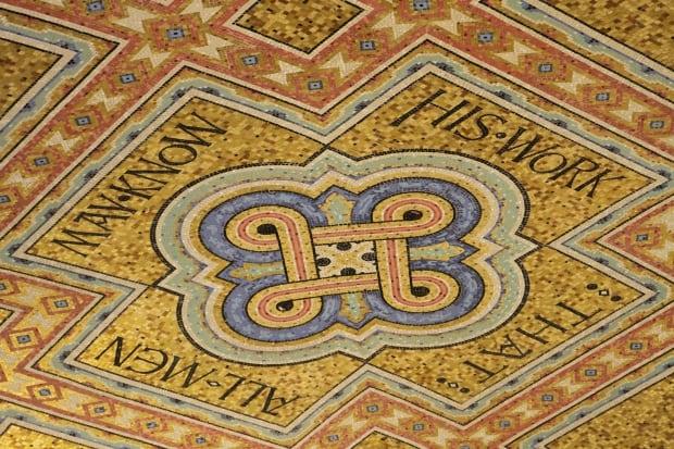 Mosaic ceiling