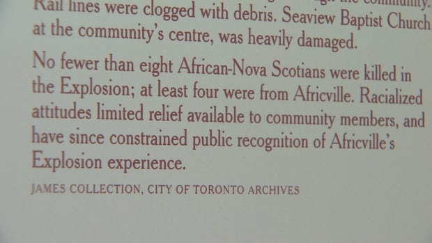 Africville and the Halifax Explosion
